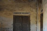 Stazione di Magazzolo - particolare interni