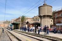 Akragas Express alla stazione di Porto Empedocle C.le