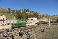 Treno storico letterario del Kaos - Stazione di Porto Empedocle c.le