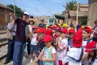 Alkragas-Express - visita guidata in stazione a Porto Empedocle